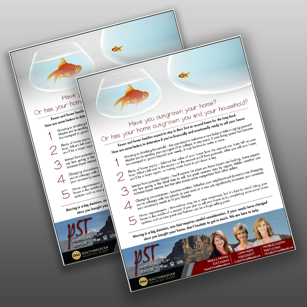 Flyer- Design, Print, Finish