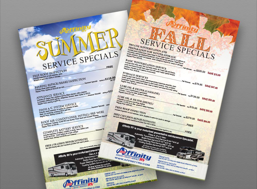 Flyer- Print and Finish