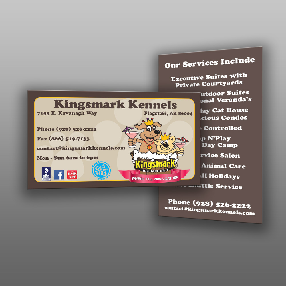 Custom Business Cards, Design