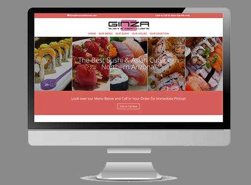 GINZA_website